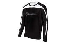 Cube Blackline Freeride Trikot langarm Men schwarz/grau/wei